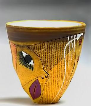 Imiso-Ceramics--Earthenware vessel Majolandile Dyalvane