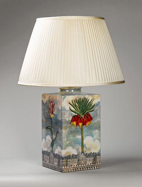 Tulip Tea Cannister Lamp