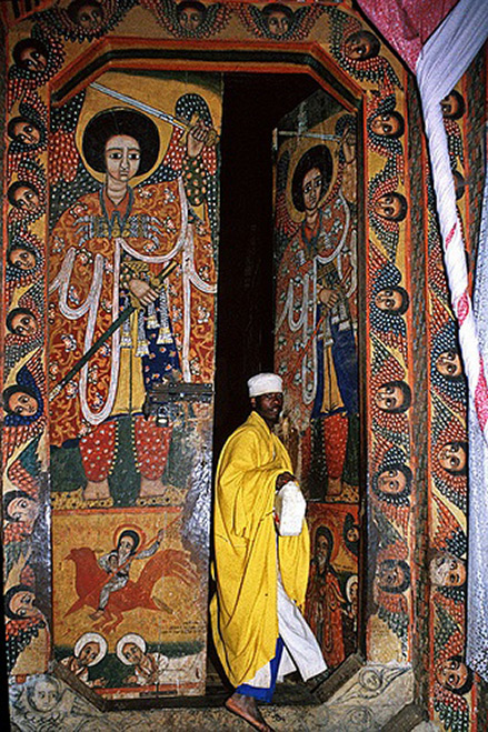 Ethiopian church art Tana lake - North Ethiopia © Johan Gerrits