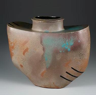 Steve Irving handbuilt vase