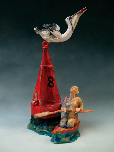 Clay-Nun-Buoy-with-Pelican