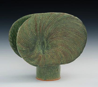 Slab Molded Ikebana Vase