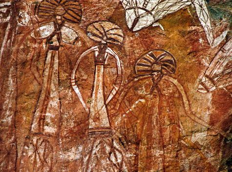 The-art-sites-of-Ubirr,-Nourlangie-Rock-and-Nanguluwur-