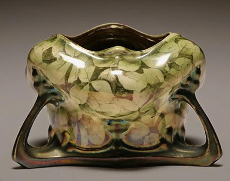 Austrian Lustre ceramic bowl