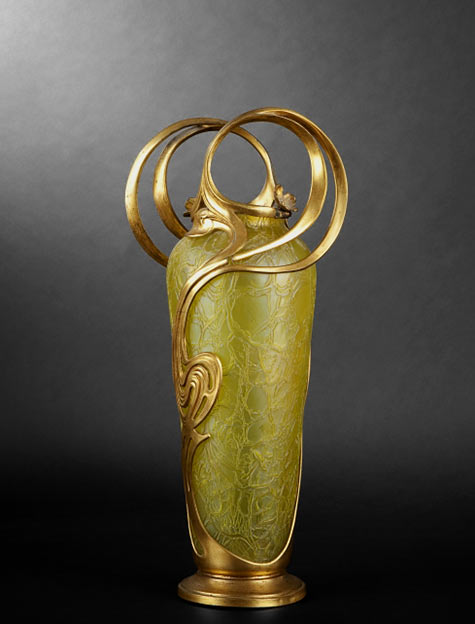 Loetz vase art nouveau