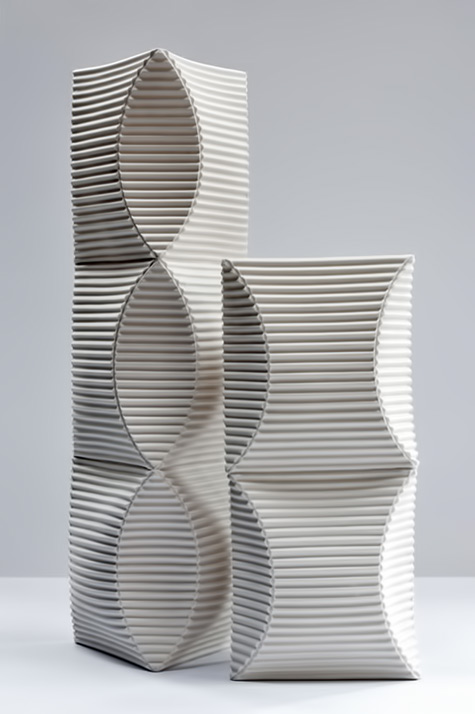 7_ceramic_sculpture'Enfold-2-&-3'---hand-built-porcelain-sculptural-vessels