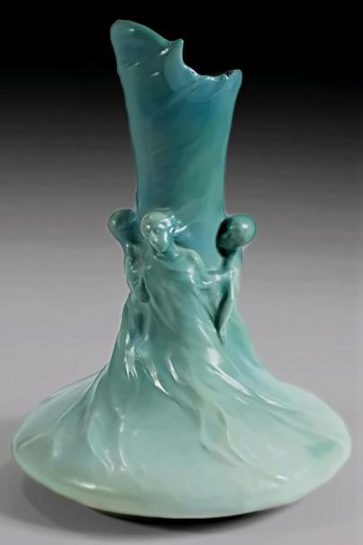 Edmund Lachenal and Agnes de Frumerie vase1890