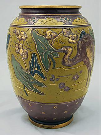 Ibis vase Ernest Chaplet