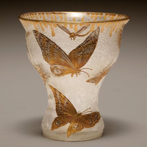 Mont Joye French Nouveau vase