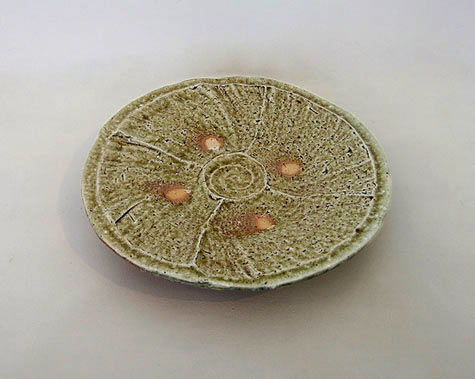 ShozoMichkawaNatural-Ash Glaze Plate