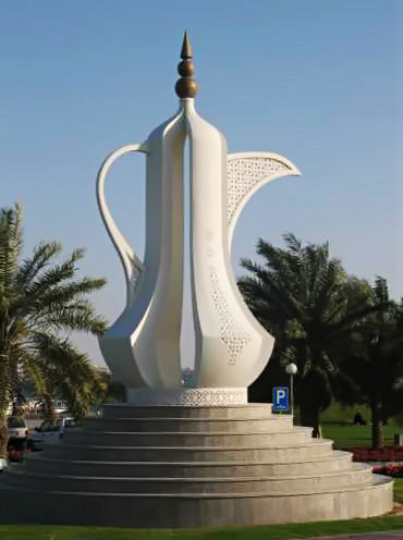 teapot-roundabout at Doha