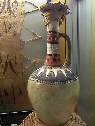 Pottery-vase-from Tomb of Kha