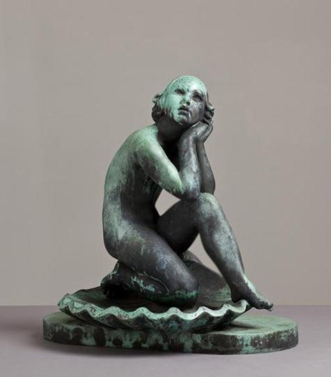 Art Deco Danish Bronze Sculpture