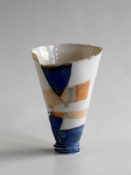 Cristina Popescu Russu Bucharest cubist vase