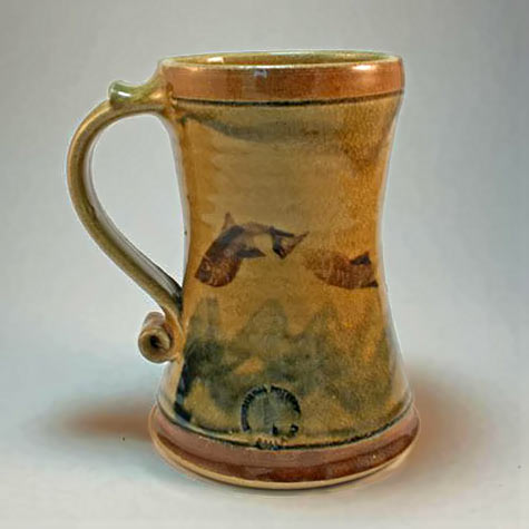 Edinburgh Pottery.Tankard