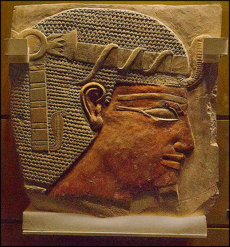Egyptian Stone Carving, National Museum of Scotland by dun_deagh