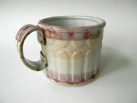 Hand Built Ceramic Coffee Mug