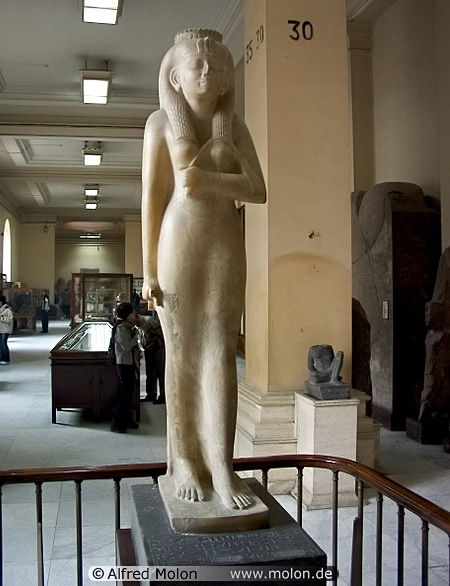 Statue of Amenirdis, daughter of Kashta,-one-of-the-queens-of-the-25th-Nubian-dynasty