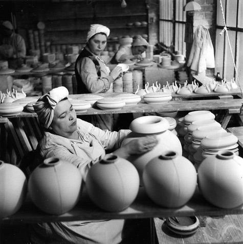 Usine de porcelaine Tharaud Robert-Doisneau