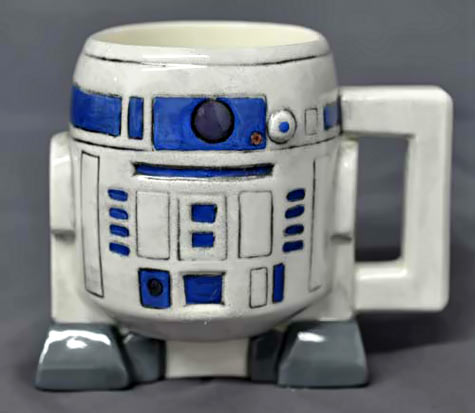 Vintage Star Wars R2D2 mug