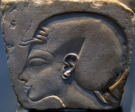 byrnzie28 - flickr - Egyptian wall fragment