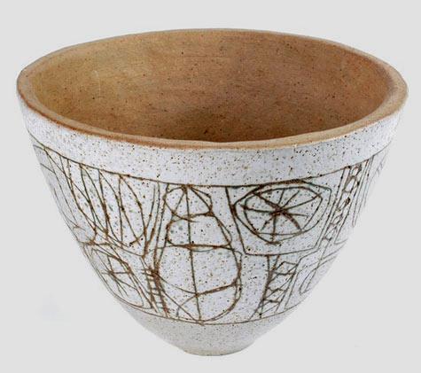 Modernist Bowl Clyde Burt