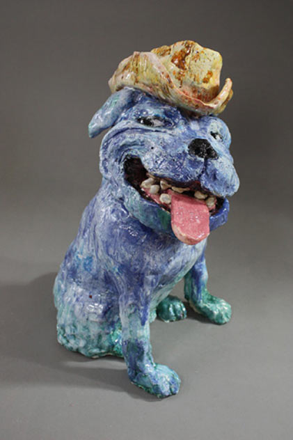 MrB-Garry Dinnen ceramic dog