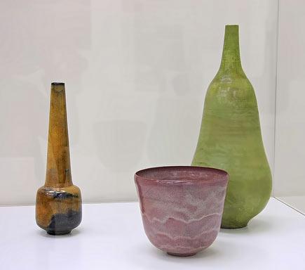 Otto & Gertrud Natzler ceramics at Common Ground AMOCO