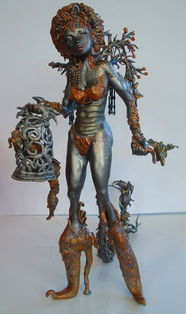 Dragon Keeper Scultpture