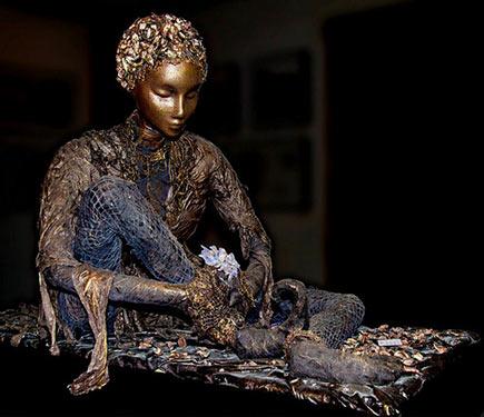 Dwight Saunders Sculpture