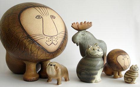 Lisa Larson Swedish Cermaic Art