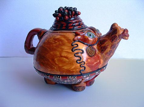 Tea-pot  Lee Sorrentino