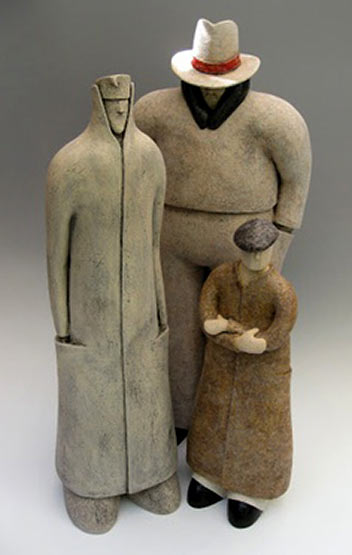 The Clandestines -Fred Yokel sculpture figurines