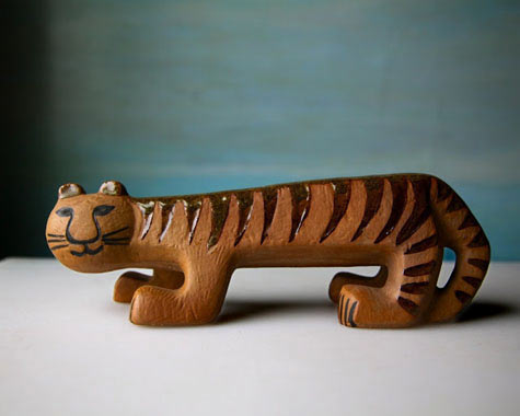 Tiger from the 1959 Afrika series