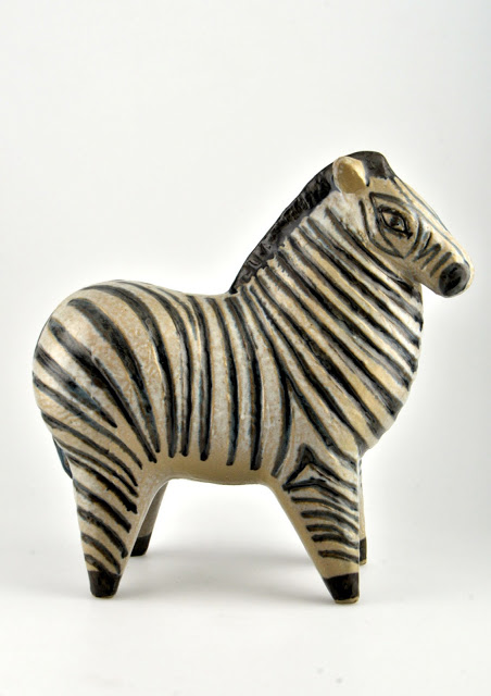 Zebra from Stora Zoo, 1958