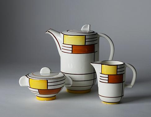 Zeisel Art Deco coffee set