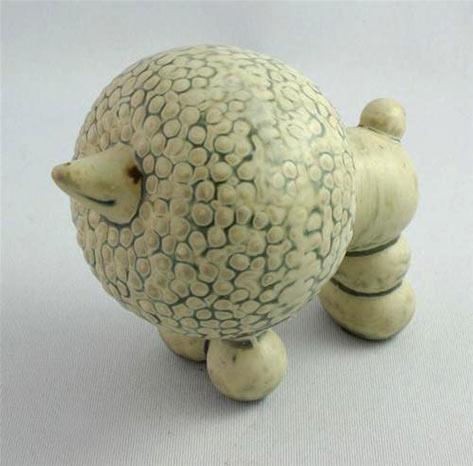 Poodle Figurine Lisa Larson