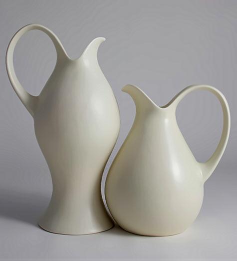 Large milk pitchers