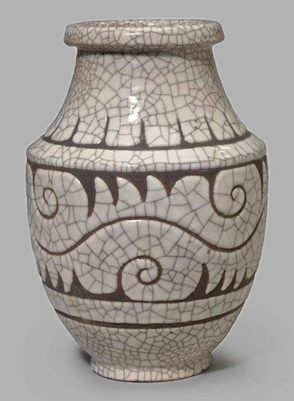 French R.Buthaud Vase crackle glaze