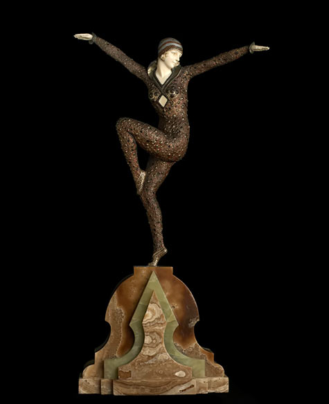 DemetreChiparus Art Deco Figurine