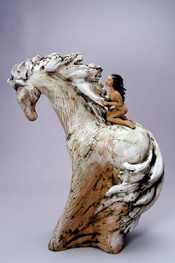 Denise Romecki Ceramic Sculpture