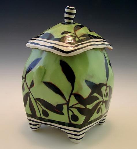 Green Jar Number 7 by nancyandburt