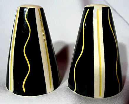 Mid-Century Modernist Salt And Pepper Shakers