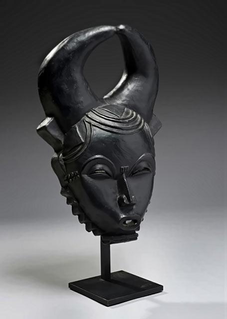 René Buthaud---negro black mask