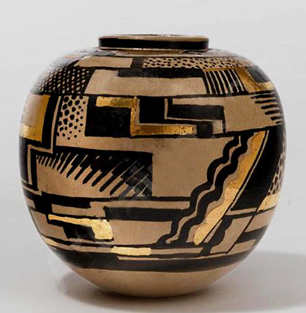 Art Deco vase Buthaud Rene -1886-1986 France