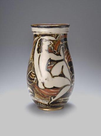 Ceramic vase decorative motifs - Rene Buthaud