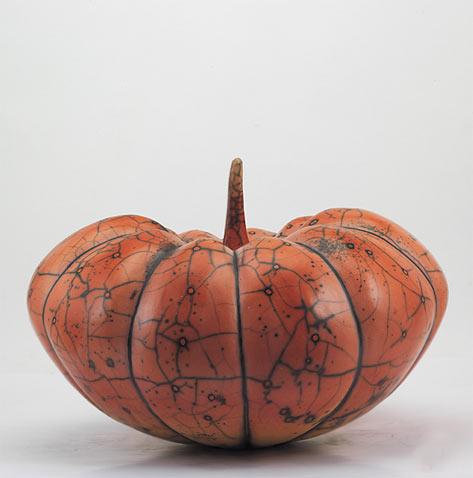 Pumpkins--Maria-Gelabert - orange ceramic
