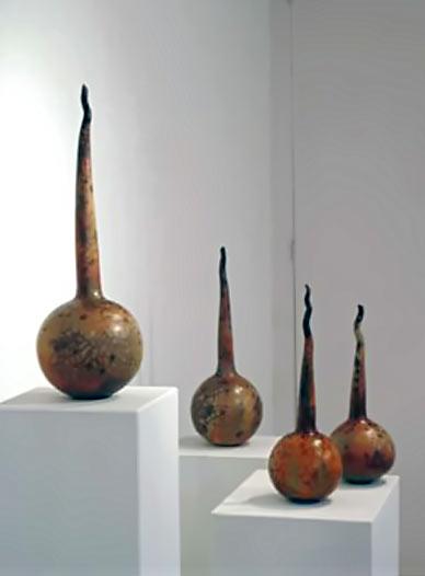 Pumpkins---Maria-Gelabert matching pottery vessels