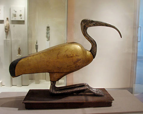 Standing Figure of an Ibis
