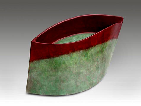 untitled, 2003 Carme Collell ceramic form